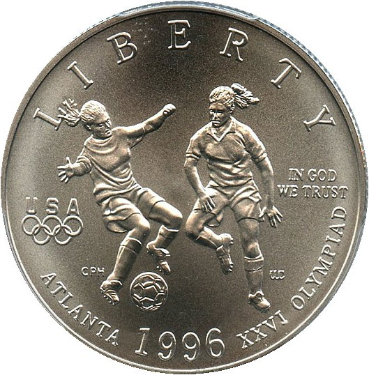 sample image for 1996-S Olympic Soccer 50c MS