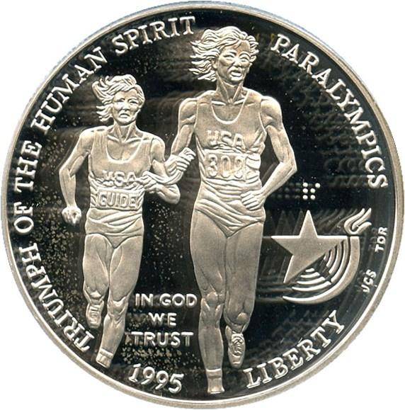 sample image for 1995-P Paralympics Blind Runner $1  PR DCAM