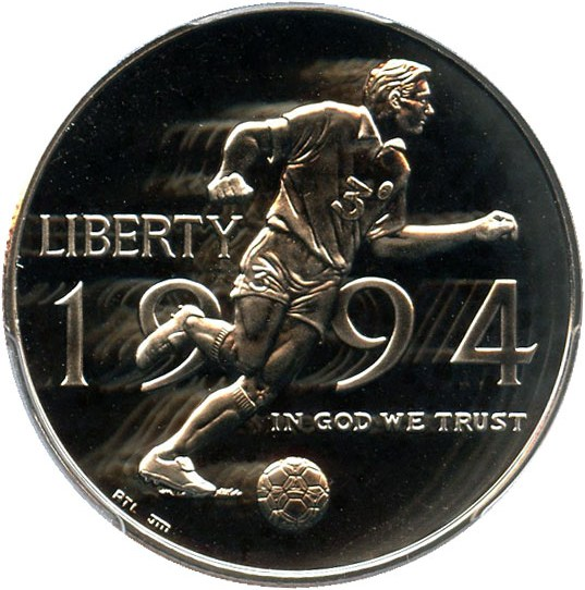 sample image for 1994-P World Cup 50c PR DCAM