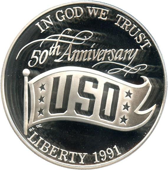 sample image for 1991-S USO $1  PR DCAM