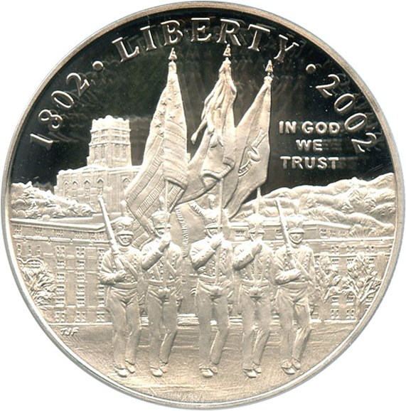 sample image for 2002-W West Point Bicentennial $1  PR DCAM