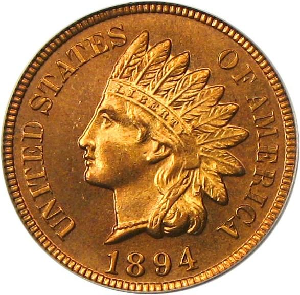 sample image for 1894 1c PR RD