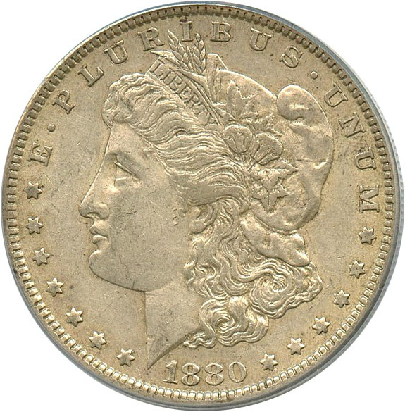 sample image for 1880-O $1  MS VAM-6A, 8/7 Ear