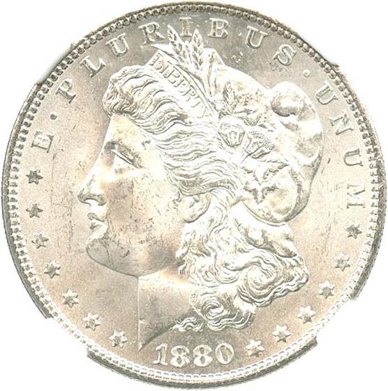 sample image for 1880-S $1  MS VAM-8, 8/7, Medium S