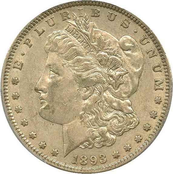 sample image for 1893 $1  MS VAM-4, Doubled Stars