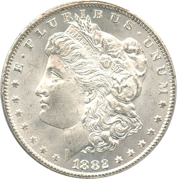 sample image for 1882-CC $1  MS VAM-5, Repunched Date