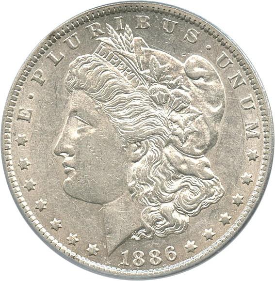 sample image for 1886-O $1  MS VAM-1A, Clashed E