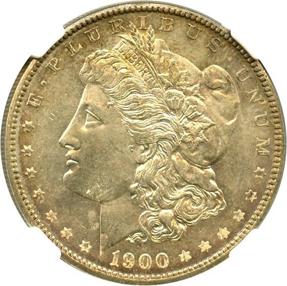 sample image for 1900 $1  MS VAM-16, Two Olive Rev