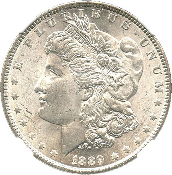 sample image for 1889 $1  MS VAM-18, Doubled Ear
