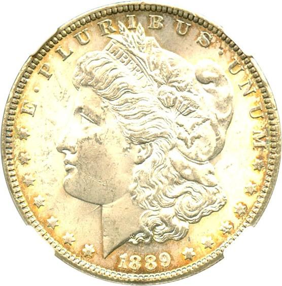 sample image for 1889 $1  MS VAM-16, Doubled Ear
