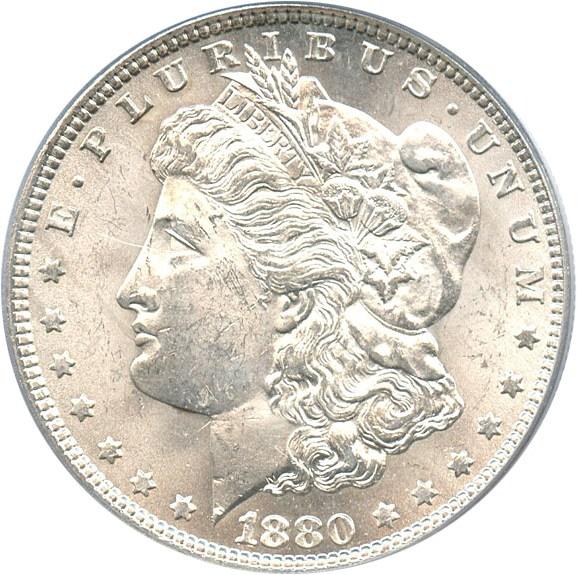 sample image for 1880 $1  MS VAM-11, Checkmark