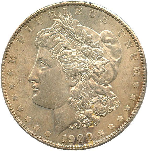 sample image for 1900 $1  MS VAM-11, Doubled Wing