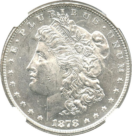 sample image for 1878 8TF $1  MS VAM-18, Doubled Date