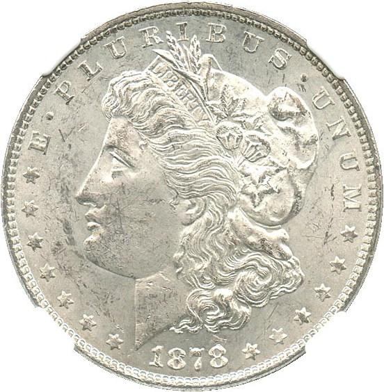 sample image for 1878 7/8TF Weak $1  MS VAM-41A, 7/4