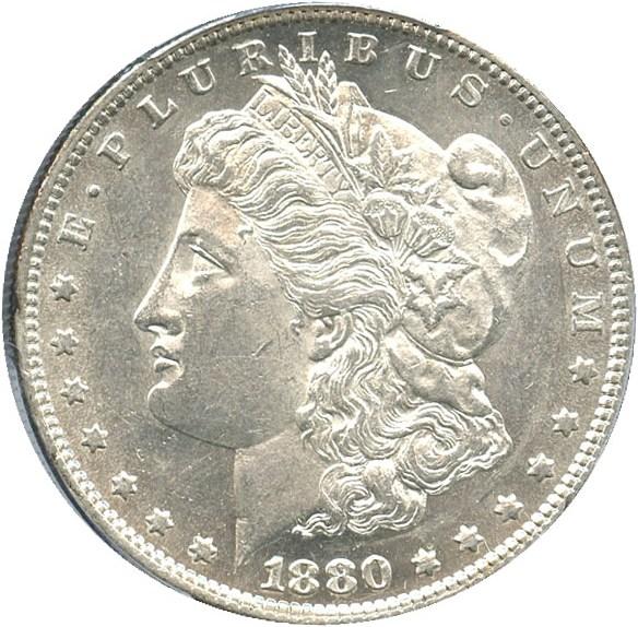 sample image for 1880-O $1  MS VAM-4, 80/79, Crossbar