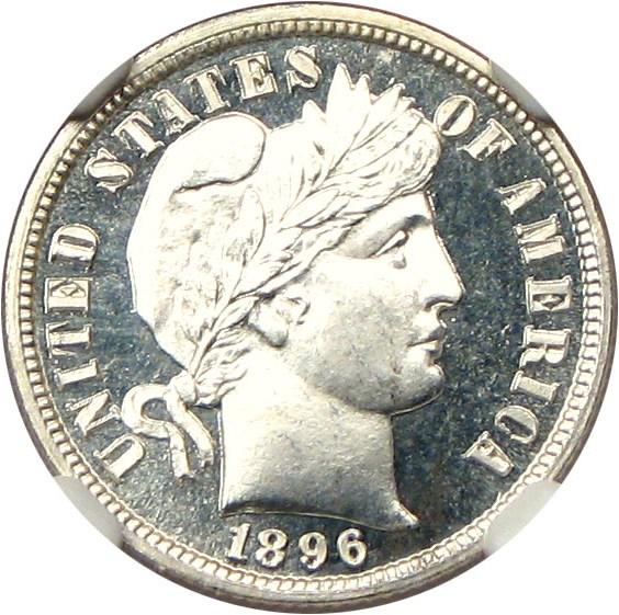 sample image for 1896 10c PR CAM