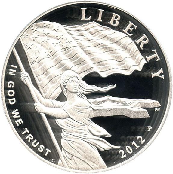 sample image for 2012-P Star-Spangled Banner $1  PR DCAM