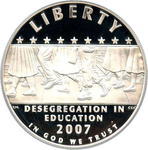 sample image for 2007-P Desegregation-Little Rock $1  PR DCAM