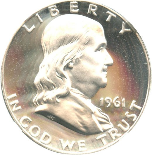 sample image for 1961 50c PR CAM