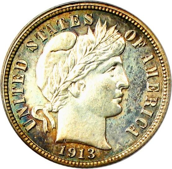 sample image for 1913 10c PR