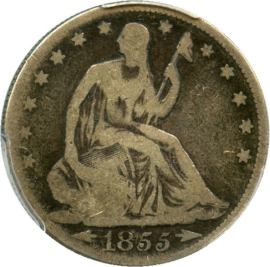 sample image for 1855 50c MS Arrows