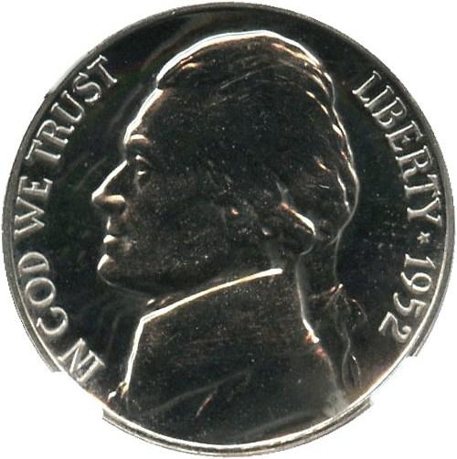 sample image for 1952 5c PR