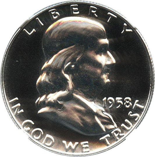 sample image for 1958 50c PR