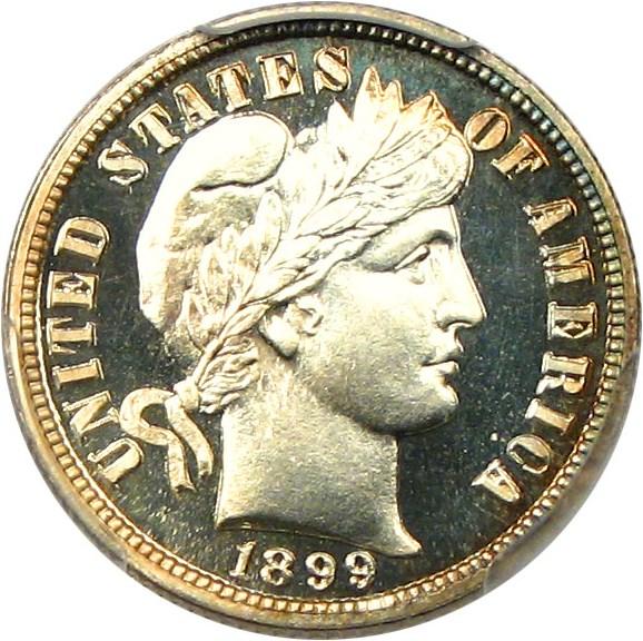 sample image for 1899 10c PR CAM
