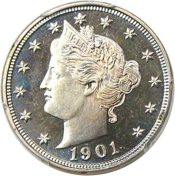 sample image for 1901 5c PR CAM
