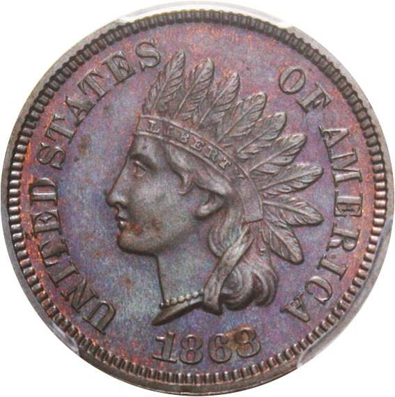 sample image for 1868 1c PR BN