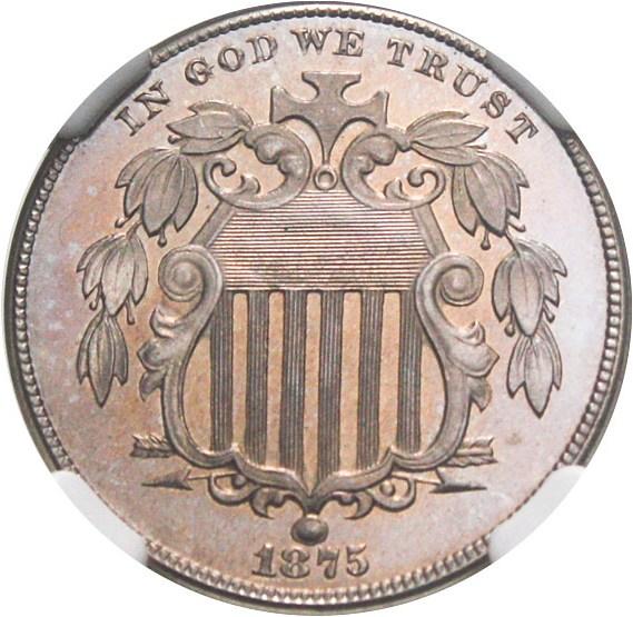 sample image for 1875 5c PR CAM