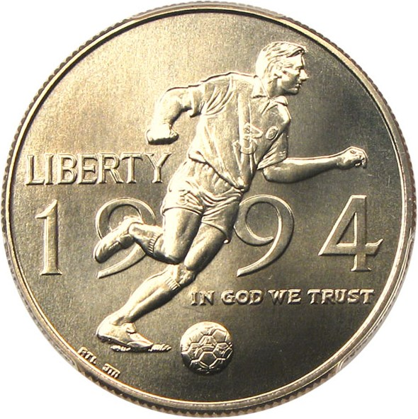 sample image for 1994-D World Cup 50c MS