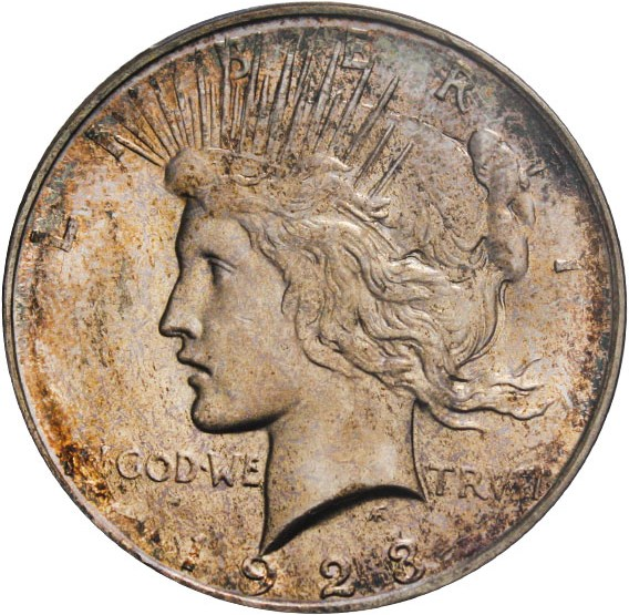 sample image for 1923-D $1  MS