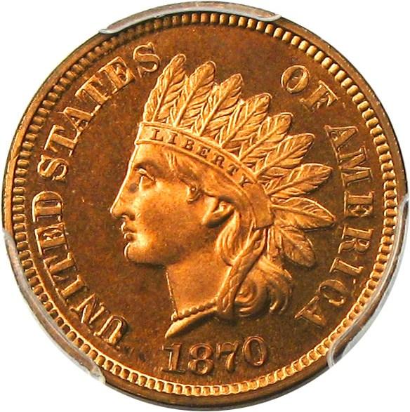 sample image for 1870 1c PR RB