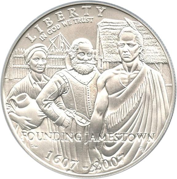 sample image for 2007-P Jamestown $1  MS