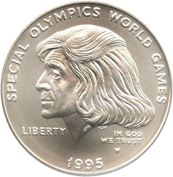sample image for 1995-W Special Olympic $1  MS