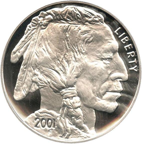 sample image for 2001-P Buffalo $1  PR DCAM