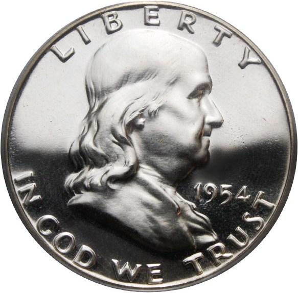 sample image for 1954 50c PR