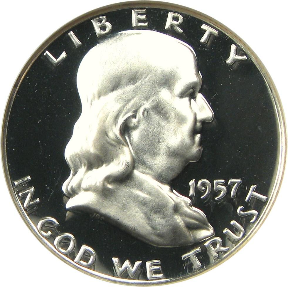 sample image for 1957 50c PR CAM