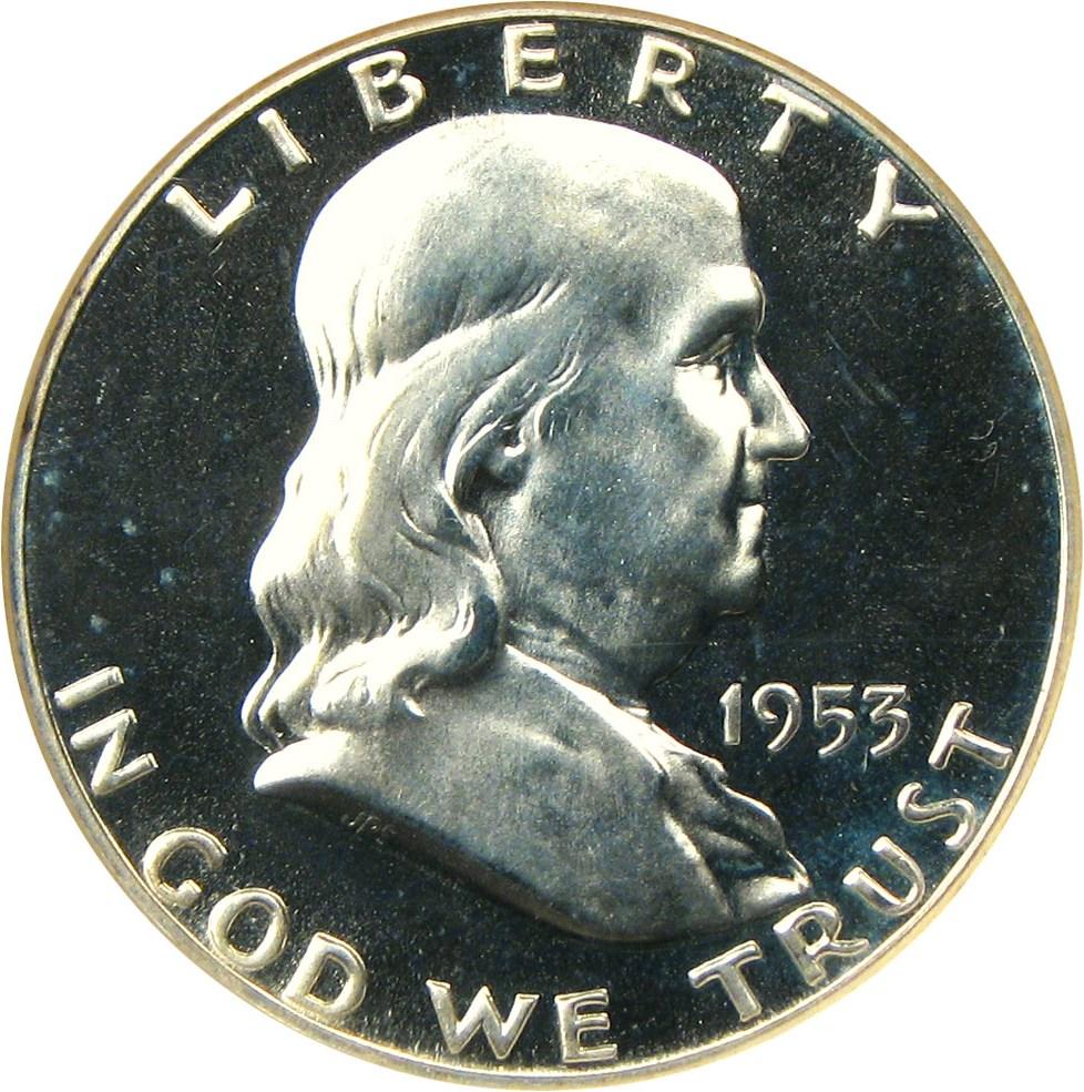 sample image for 1953 50c PR CAM
