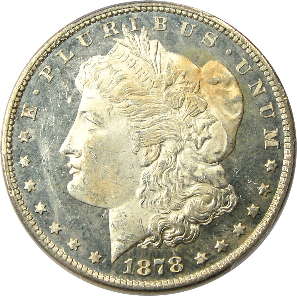 sample image for 1878 7/8TF $1  MS DMPL Strong