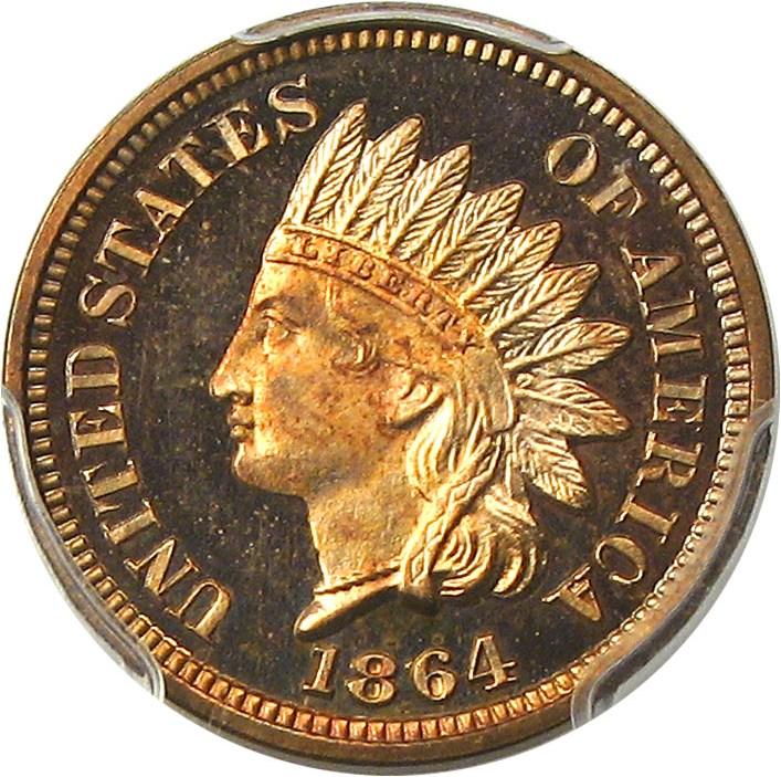sample image for 1864-1909 1c PR RD CAM Bronze [Type]