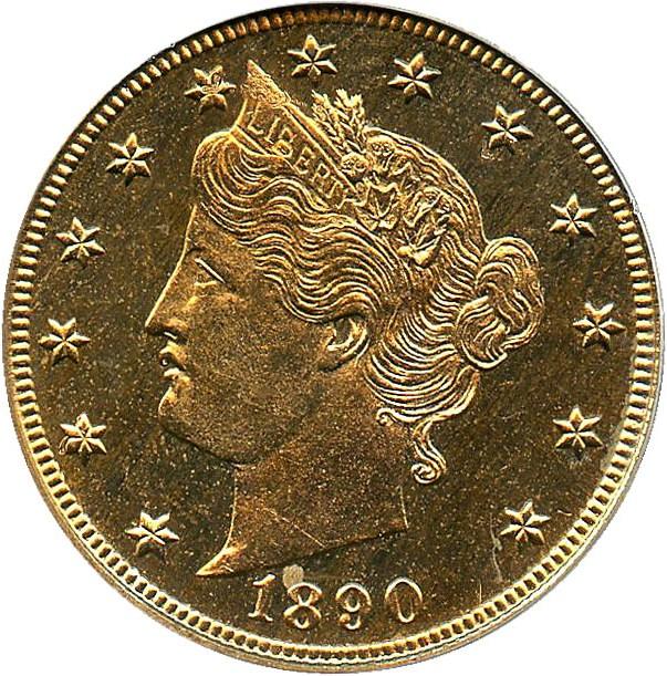 sample image for 1890 5c PR