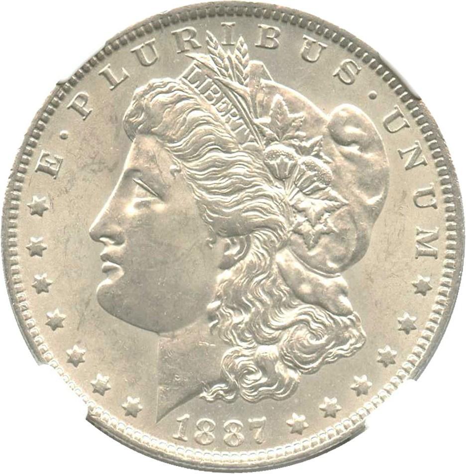 sample image for 1887-O $1  MS VAM-3, 7/6