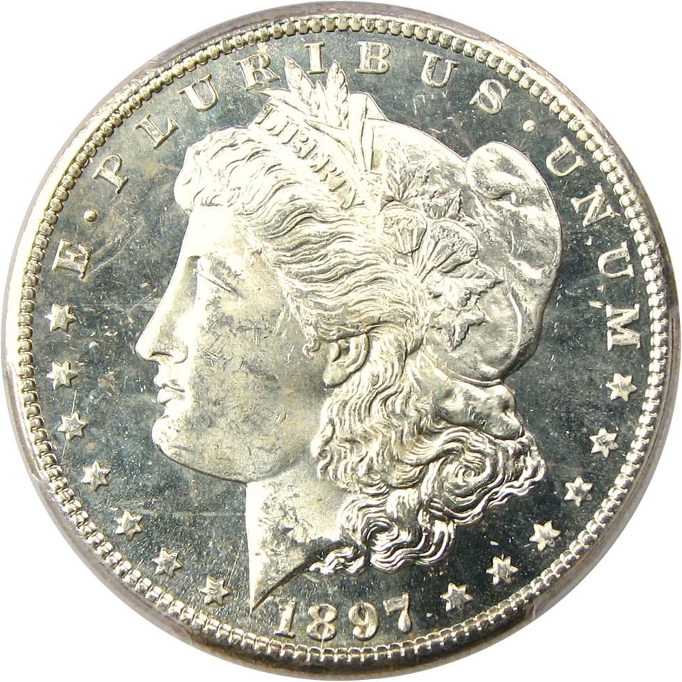 sample image for 1897-S $1  MS DMPL