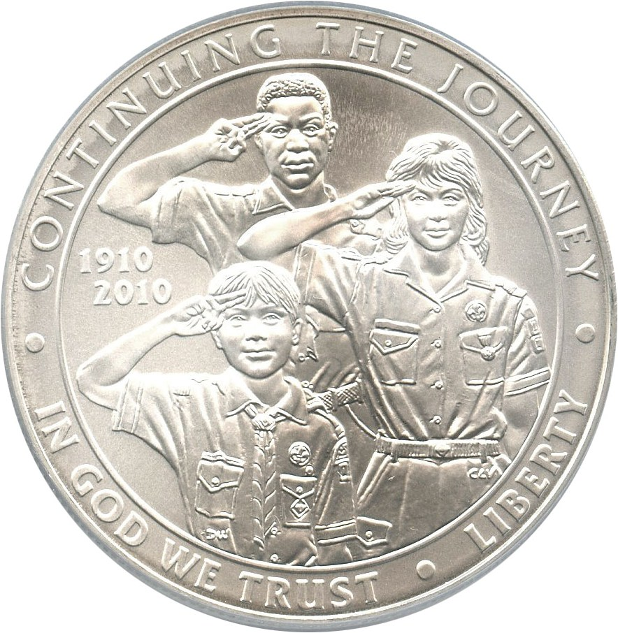 sample image for 2010-P Boy Scouts of America $1  MS