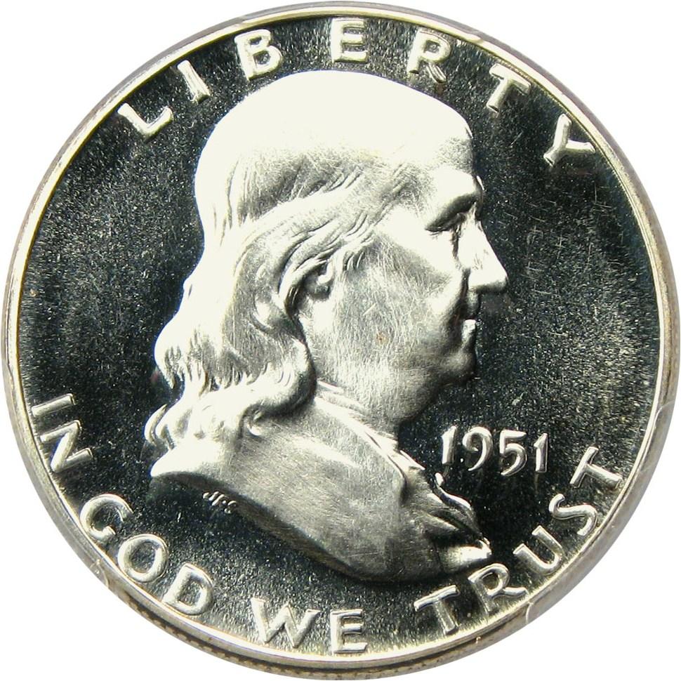 sample image for 1951 50c PR CAM