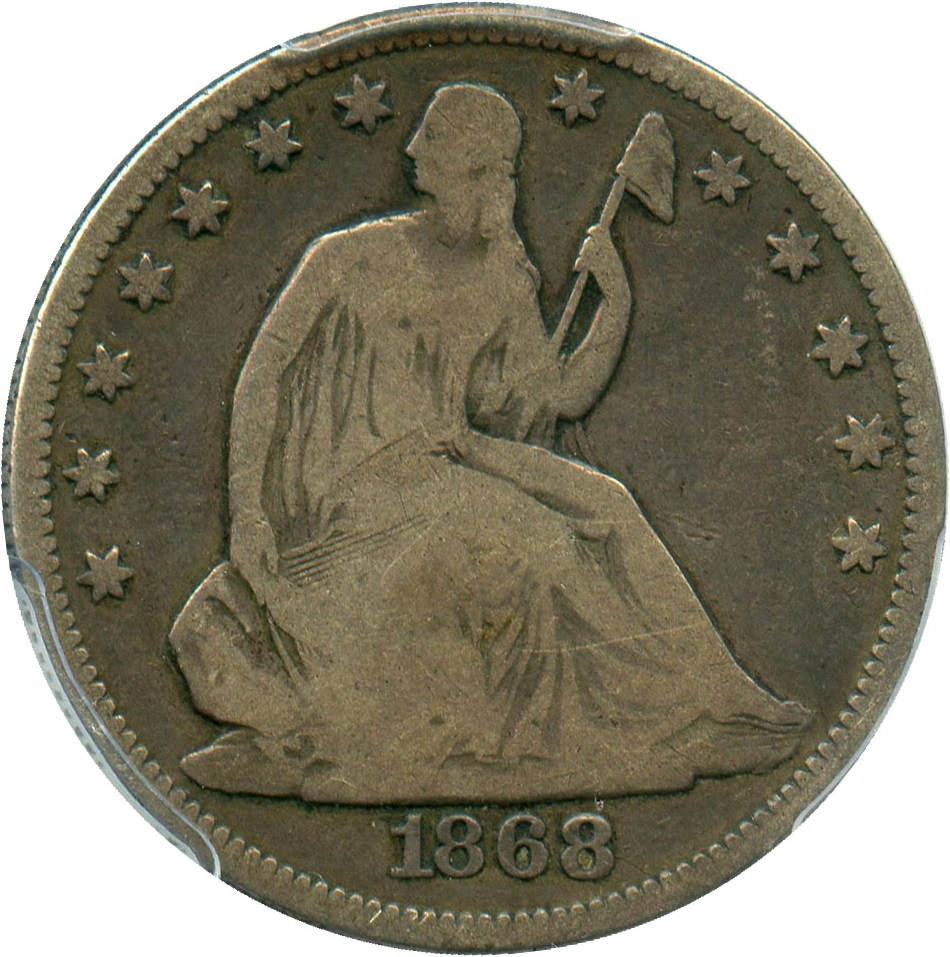 sample image for 1868 50c MS