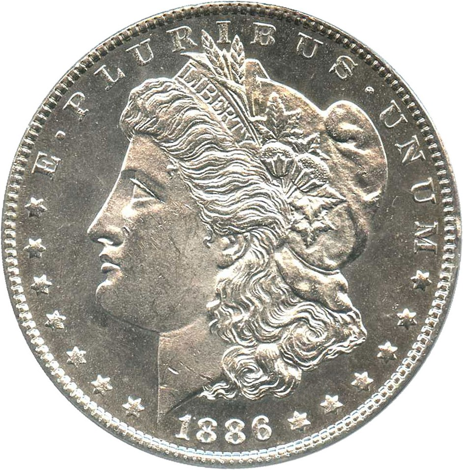 sample image for 1886 $1  MS DMPL