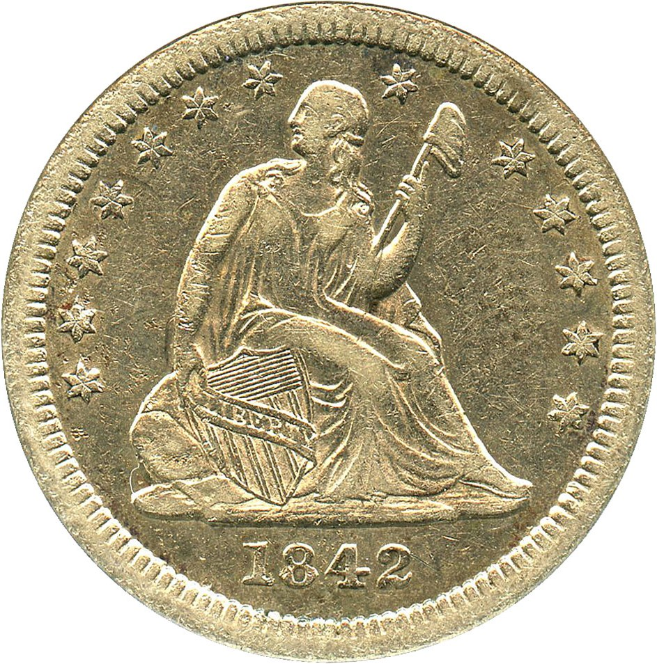 sample image for 1842-O 25c MS Large Date